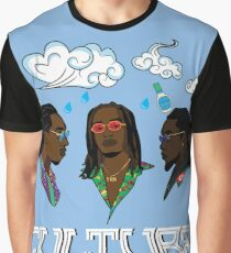 Migos Culture Print Graphic T-Shirt