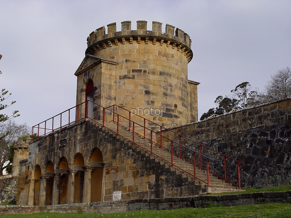 Tasmania Port Arthur Convict Settlement by photoj