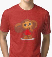 Cheburashka Tri-blend T-Shirt