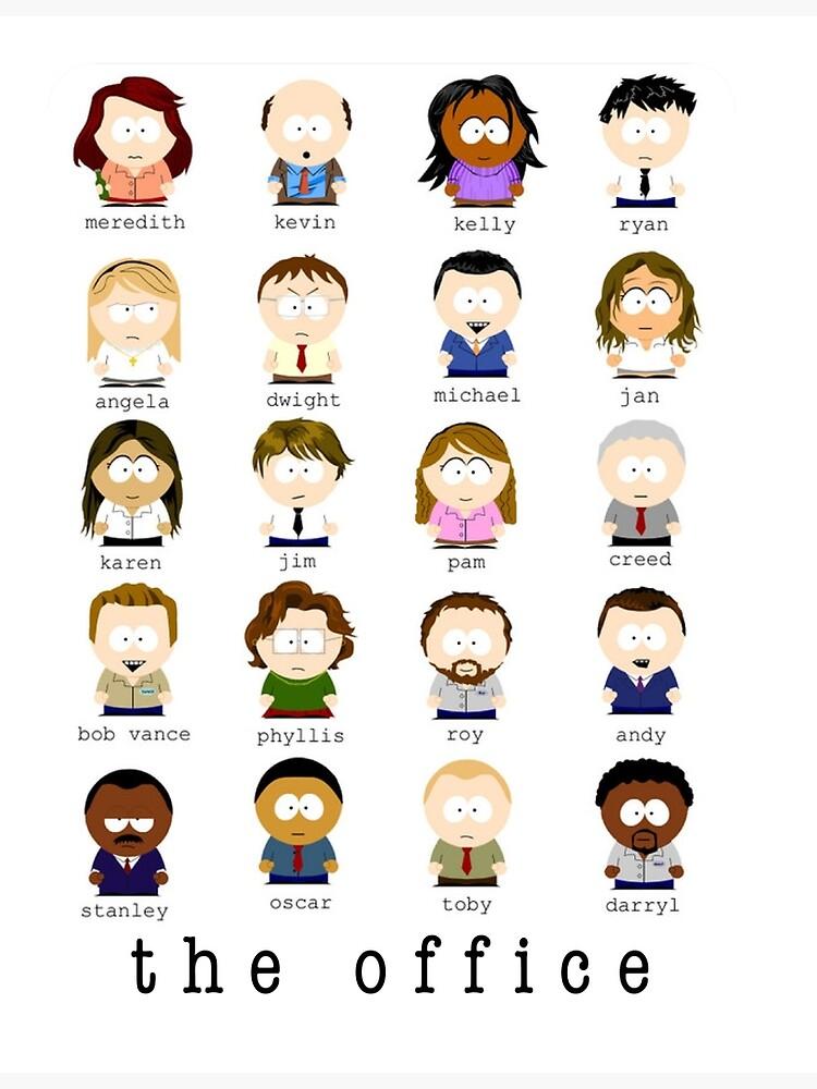 Los personajes de dibujos animados de Office de rb12345