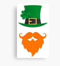 St Patrick's Day Leprechaun Canvas Print