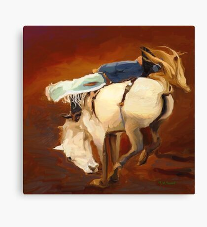 Rodeo Rogue Canvas Print