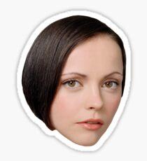 Christina Ricci Sticker