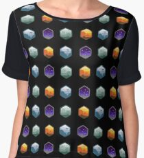 Star Wars Emblem Set Women's Chiffon Top