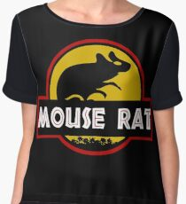 Jurassic Mouse Rat Women's Chiffon Top