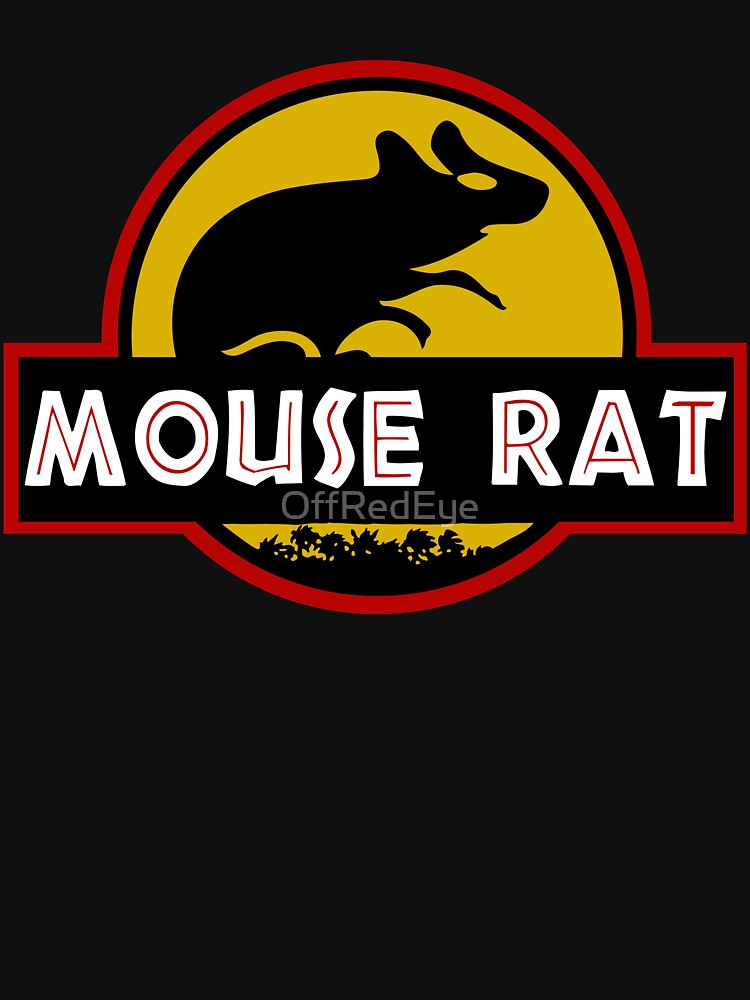TShirtGifter presents: Jurassic Mouse Rat | Unisex T-Shirt