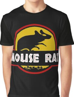 Jurassic Mouse Rat Graphic T-Shirt