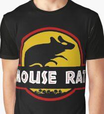 Jurassic Mouse Rat Graphic T-Shirt