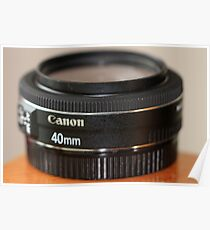 Canon EF 40mm f/2.8 STM Poster