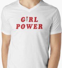 GIRL POWER Men's V-Neck T-Shirt