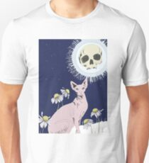 Sphinx And Skull Moon Unisex T-Shirt