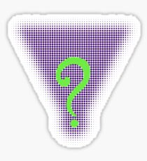Riddle Me This! Sticker