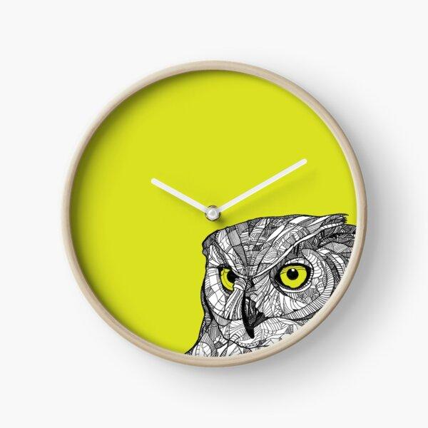 Ornate Owl Clock