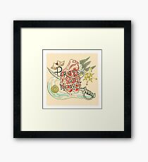 Pirate at Heart Framed Print