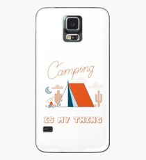 Camping Is My Thing Case/Skin for Samsung Galaxy
