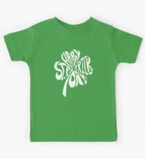 Happy St Patrick's Day Shamrock Kids Clothes