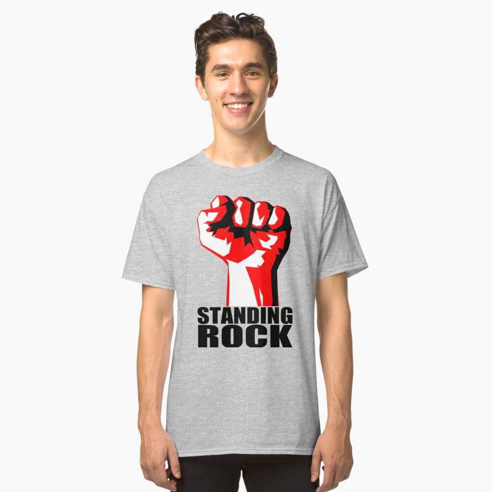 STANDING ROCK Classic T-Shirt Front