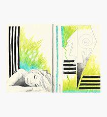 Sketchbook Jak, 14-15 Photographic Print