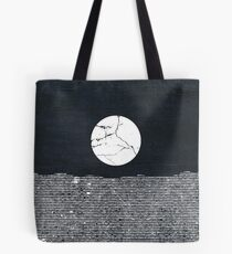 Crack in the Moon Tote Bag