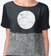 Crack in the Moon Chiffon Top