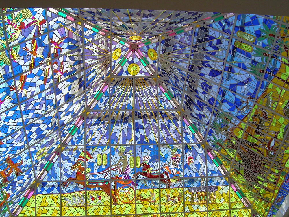 Stained Glass  by Wildredrose