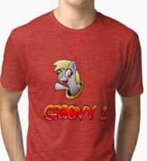 Derpy Groovy! Tri-blend T-Shirt