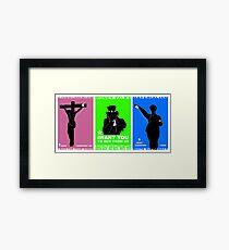iConsume series Framed Print