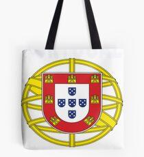 Original Portuguese National Seal Design Tote Bag