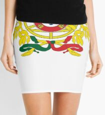 Portugal National Deluxe Game Design Mini Skirt