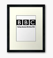 BBC Framed Print