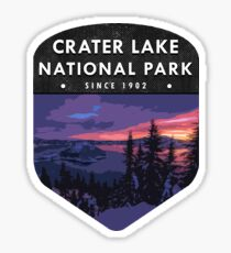 Crater Lake National Park 2 Sticker