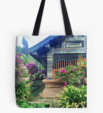 Chiang Mai Temple Garden Tote Bag