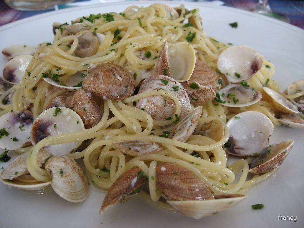 spaghetti  by francy
