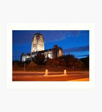 Anglican Cathedral Art Print