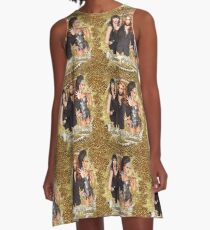 """Haus of Edwards """"All That Glitters is Gold"""" Collection A-Line Dress"""