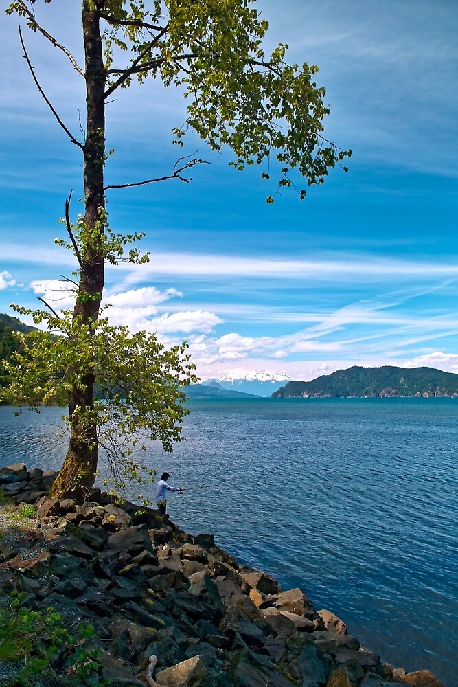 Springtime, Harrison Hot Springs, BC 14 by Priscilla Turner
