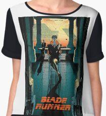 Blade Runner Poster Chiffon Top