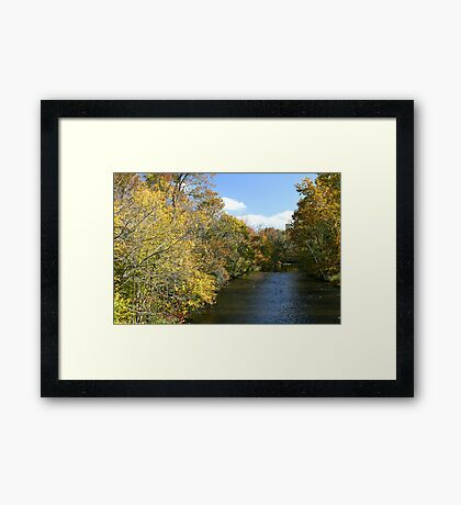 Little River In Townsend Tennessee Framed Print