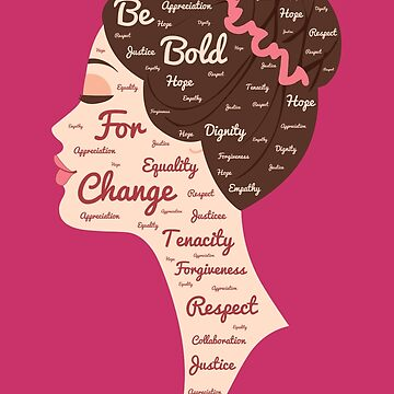 Be Bold for Change - International women's Day 2017 - March 8 by gianluc