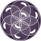 Sphere of Bubbles Flower of Life by witandwhimsey