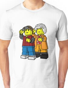 Back To The Future Lego Unisex T-Shirt