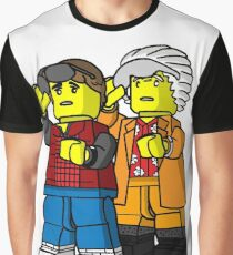 Back To The Future Lego Graphic T-Shirt