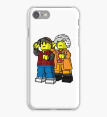 Back To The Future Lego iPhone Case/Skin