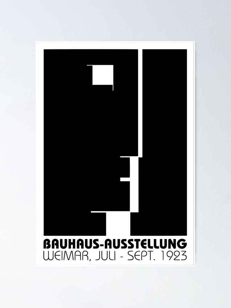 Alternate view of Bauhaus (Art School) -  Promotional Poster 1923 Poster