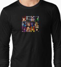 Mortal Kombat 2 - Character Select - Clean Long Sleeve T-Shirt