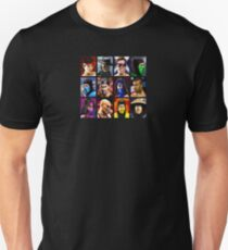 Mortal Kombat 2 - Character Select - Clean Unisex T-Shirt