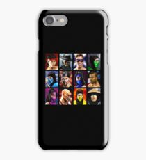Mortal Kombat 2 - Character Select - Clean iPhone Case/Skin