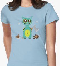 Cute Monster with Headless Teddy T-Shirt