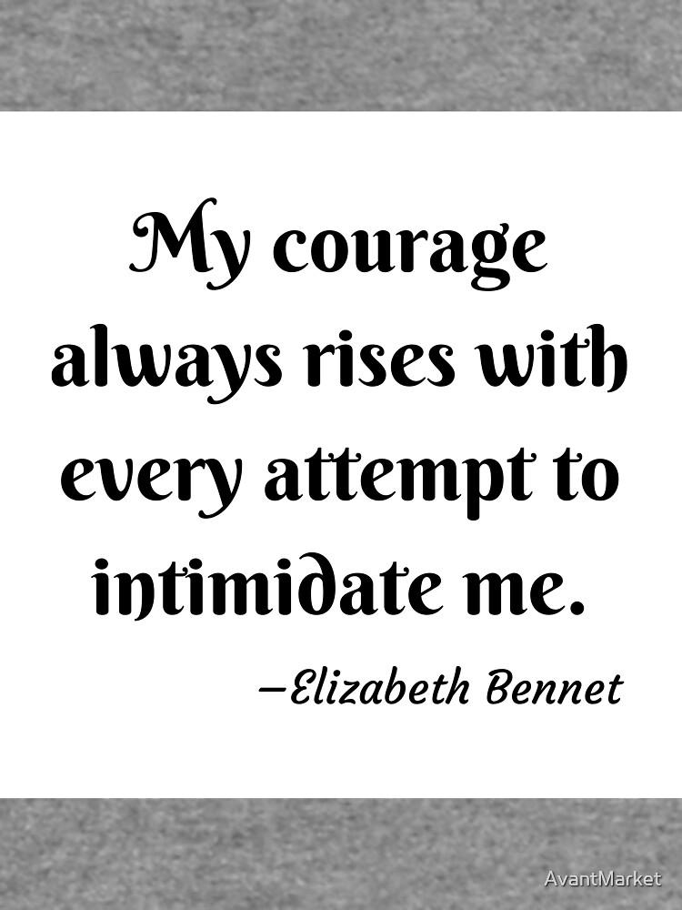 Pride and Prejudice Elizabeth Bennet Jane Austen Quote by AvantMarket