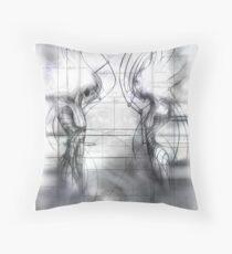 more nameless art Throw Pillow